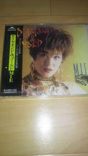 廃盤新品!MIE「ダイヤモンド&ゴールド」(1992年発売盤)☆  < タレントグッズの