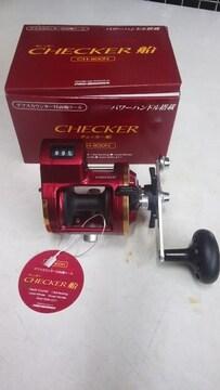 CHECKER(チエッカー船)デプスカウンター付 両軸リール