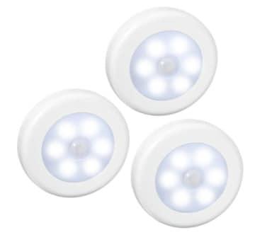 人感センサー ライト 電池式 LEDナイトライト