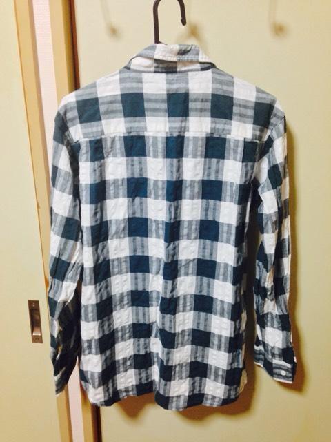 ^_−☆チェックシャツワンピ★☆ < 女性ファッションの