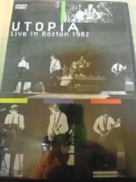 DVDソフト ユートピア ライブ・イン・ボストン1982 輸入盤 未開封 洋楽