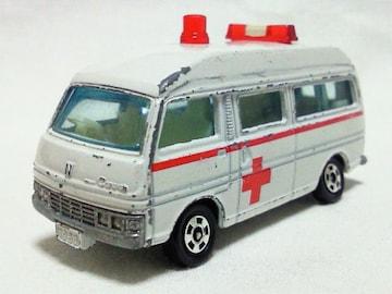 絶版トミカ6 キャラバン 救急車 日本製