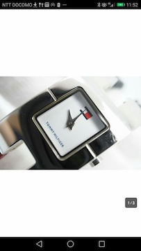 トミーHILFIGER ★とってもオシャレフラッグブレス時計