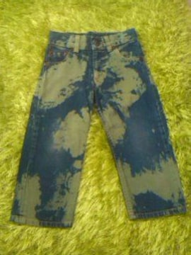 ●HYSTERIC● 斑染めジーンズ90-100