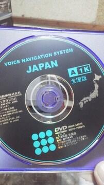 送料込みトヨタ&ダイハツ純正ボイスナビDVDROM 2013年春全国版 A 1K