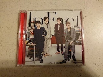 KAT-TUN「In Fact」初回DVD付