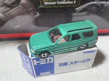 限定トミカ 日産 ステージア  GT-Rワゴン
