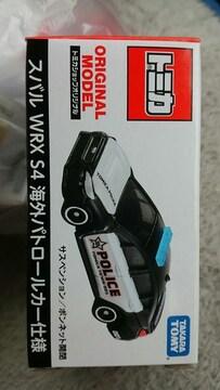 トミカ トミカショップ限定 スバル WRX S4 海外パトロールカー仕様 未開封 新品