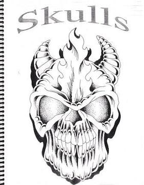 刺青 参考本 Skulls  【タトゥー】