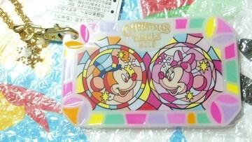 ディズニー TDS クリスマス 30周年 パスケース Suica など ICケース ミッキー ミニー