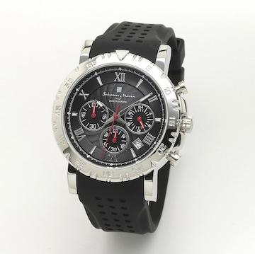 サルバトーレマーラ メンズクォーツ腕時計SM19110-SSBK