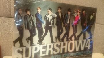 未開封 SUPER JUNIOR 3Dポスター(下敷きタイプ) 2011 大阪 京セラドーム
