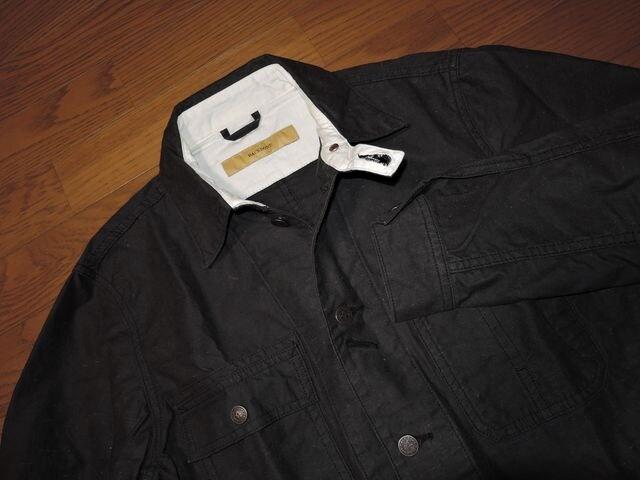 BACKBONEバックボーン薄手カバーオールL薄手コートシャツJKT < ブランドの