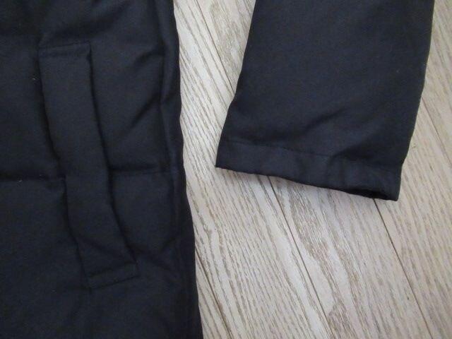 新品同様★NORTH POINT★ダウン70%,600g超/黒/M < 女性ファッションの