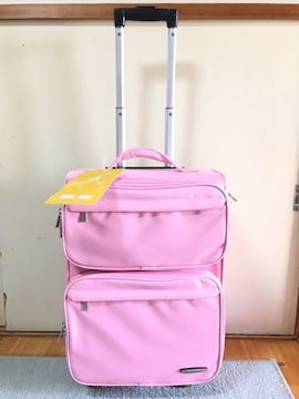 新品ピンクエミネントEMINENTスーツケースソフトキャリーケース
