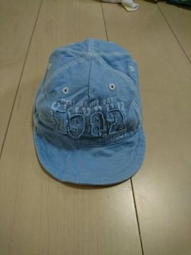 ベビー。帽子。ブルー系