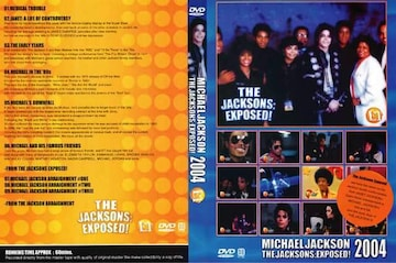 JACKSONS マイケルジャクソン EXPOSED 2004