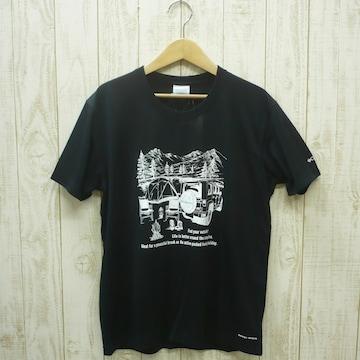 即決☆コロンビア特価CAMP半袖TシャツBLK/XLサイズ (XXL 3L ) リラックスフィット