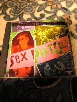 SEX PISTOLS(セックスピストルズ)ライブCD 帯あり