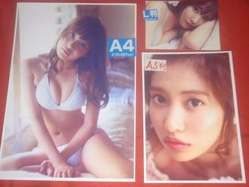 ★佐野 ひなこ A4判+大小10枚