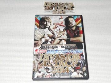 DVD★新日本プロレス 2014 速報DVD! INVASION ATTACK