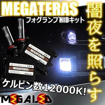 超LED】エルグランドE50系前期/フォグランプHIDキット/H3/12000K