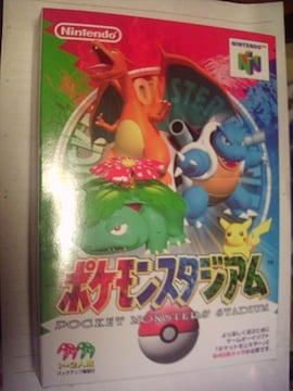 N64 ポケモンスタジアム 未使用品