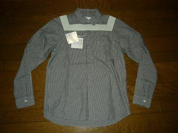 新品IMINDアイマインドチェックシャツM黒薄手VISVIMSOPHNET.