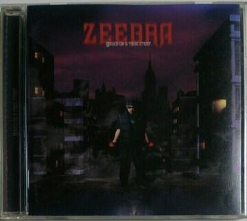 (CD)ZEEBRA/ジブラ☆BASED ON A TRUE STORY★アルバム♪