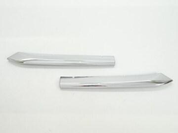 マツダ クロームメッキ  フロントバンパー ダクト モール フィン カバー パネル CX-3 DK5系