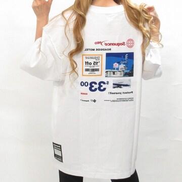 NEW最新バックphoto貼付けワッペン/ストリートTシャツ7663