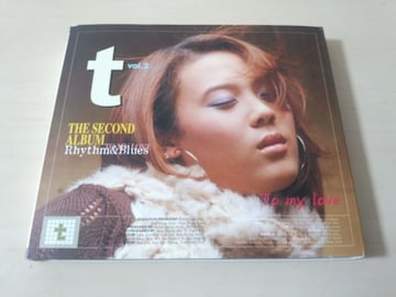 T(ユン・ミレ)CD「2集 THE SECOND ALBUM RHYTHM & BLUES」韓国