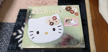 ハローキティ 市松和花フェイスお重!