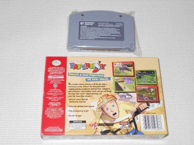 N64★PAPER BOY 海外版(国内本体動作不可) < ゲーム本体/ソフトの