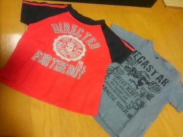 ☆USED☆半袖Tシャツ 2枚セット☆100