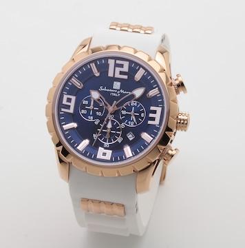 サルバトーレマーラ 腕時計 クロノグラフ メンズSM15107-P