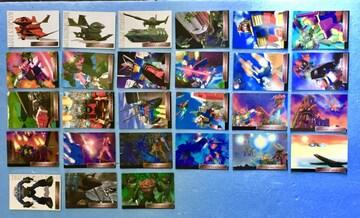 バンダイ ガンダム   CG セレクション カード 27枚 トレカ