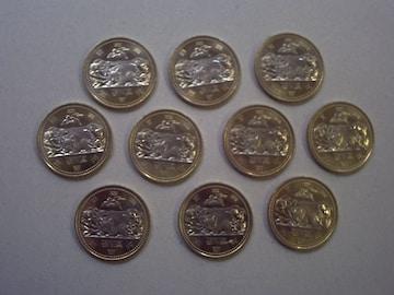 ★地方自治60周年500円貨(栃木県) 10枚★