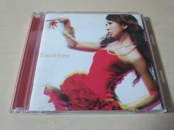青山テルマCD「Emotions」DVD付初回限定盤●