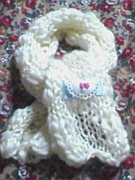 A16〓手編み リボンモチーフ