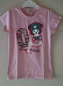ONEPIECEチョッパーTシャツ150美品ピンク