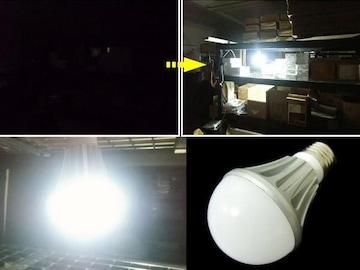 LED電球 12w 白 船舶 DC12v/DC24v兼用 口金:E26/作業灯 防水