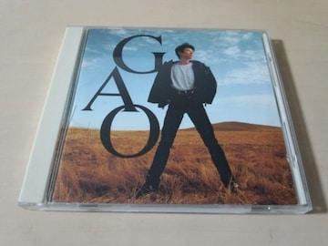 GAO CD「ガオ」廃盤●