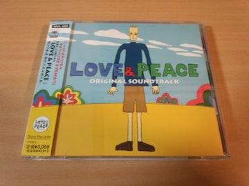 ドラマサントラCD「LOVE&PEACE」松岡昌宏、佐藤藍子●