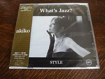 ★スマートレター無料+半額★akiko/What's jazz