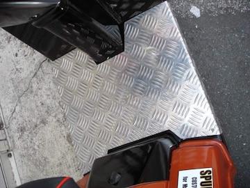 ホンダ ジャイロX アルミステップボード