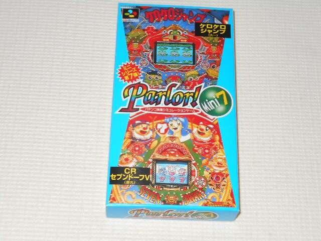 SFC★Parlor!Mini! 7  < ゲーム本体/ソフトの