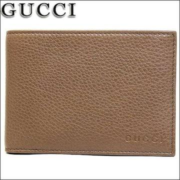 GUCCI 292534-a7m0g-2527 二つ折り財布 ブラウン メンズ