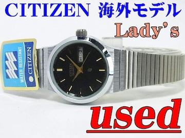USED!! CITIZEN 海外モデル Lady's クォーツ 075307