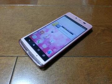即落/即発!!美中古品 SH-04E AQUOS PHONE EX ピンク